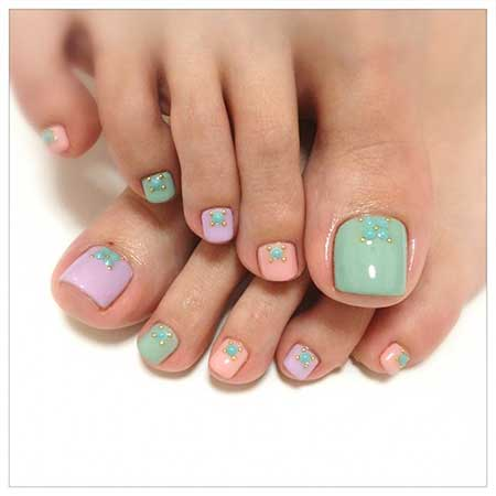 Toe Nail Toe, Pedicures, Toe, Art, Pastel