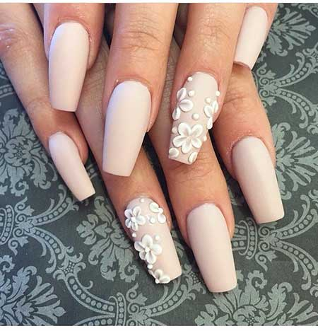 18 Best Matte Coffin Nail Designs Best Nail Art Designs 2018
