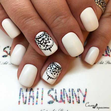 Leopard Print, Lace Nail, Animal Prints, Leopards, Leopard Print, White, Black