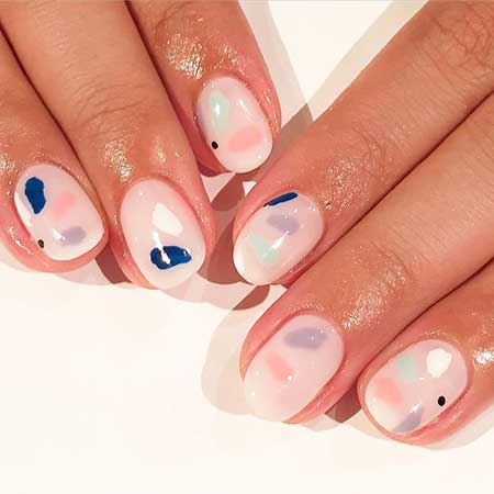 Art, Wedding Manicures, Frenchpastel, Wedding, French, Spring
