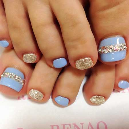 Nail, Wedding Toe Nail, Glitter, Pretty Nail, Glitter Nail, Colors, Toe
