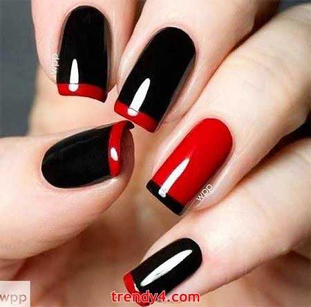 Redblack Nail Red, Nail Negatif