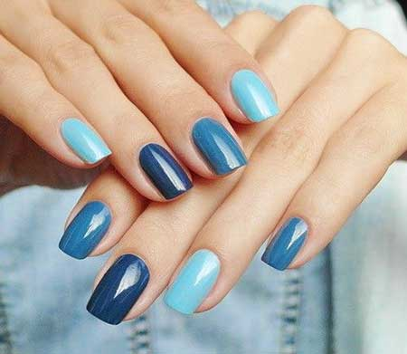 Blue Blue, Art, S, Manicures