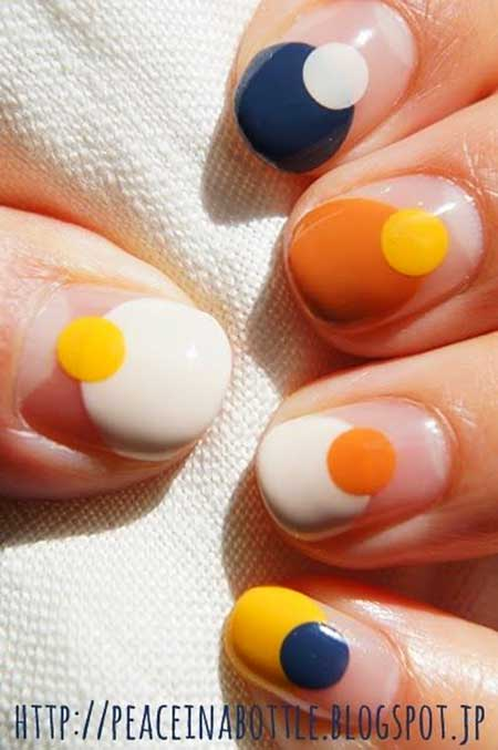 Orange, Polish, Nail Polish, Orange Eggs, Summer Zoya, Geometric, Summer