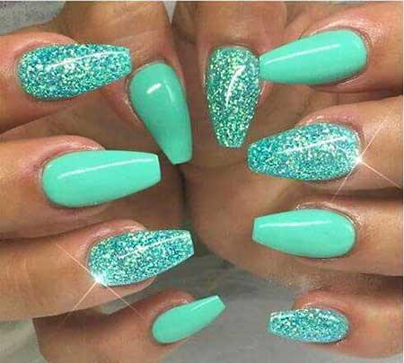 25 Nice Sparkly Nail Designs Best Nail Art Designs 2018