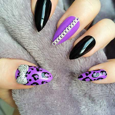 Stiletto Nail, Art, Pink, Pretty Nail, Stilettos, Purple, Stiletto, Pretty