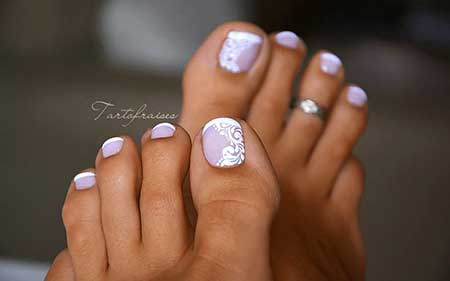 Toe Nail, Pretty Nail, Wedding Art, Toe