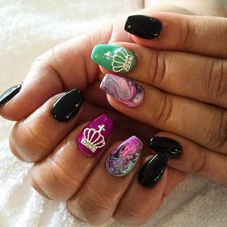 Tribal Nail, Art, Aztec Nail, Jamberry, Aztec, Tribal, 2017, New, Idea,