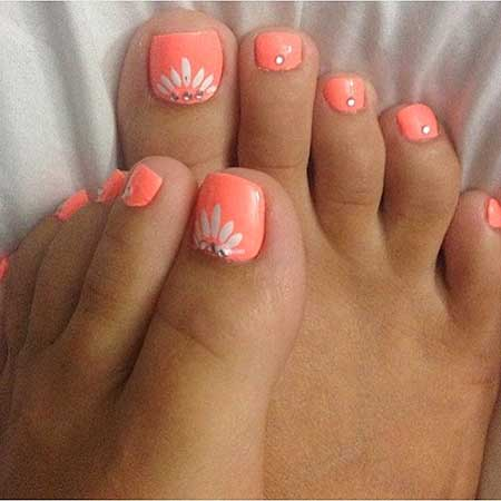 Toe Nail Toe, Wedding Toes, Pedicures, Pink, Decoration, Foot, Toes, Toe