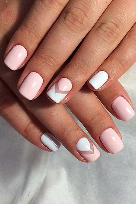 Manicures, French Manicure, White Nail, Pinksummer Negatif