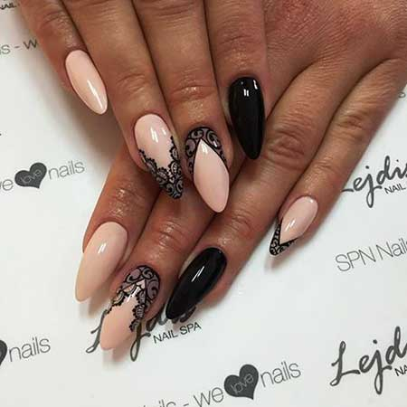 Stiletto Nail, Art Lace, Stiletto, Idea