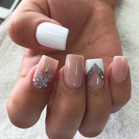 Square Nail Design, Nails Nail Manicure Wedding