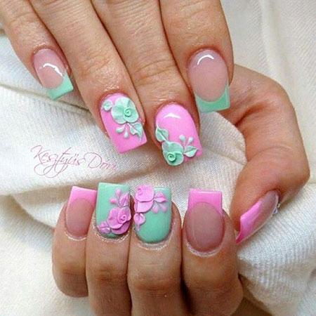 Nails Nail 3D Acrylic