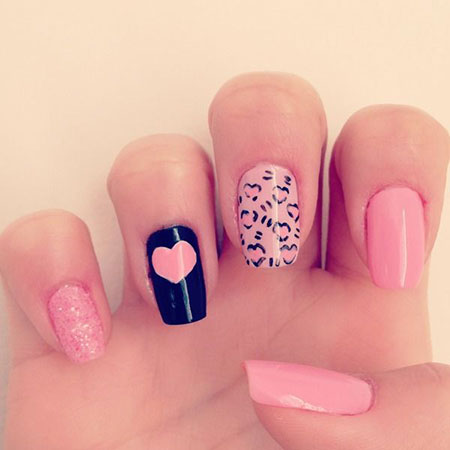 Nail Heart Nails Art
