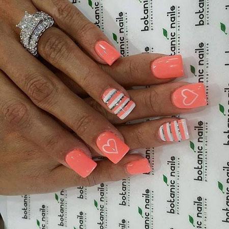 Nail Nails Summer Pink