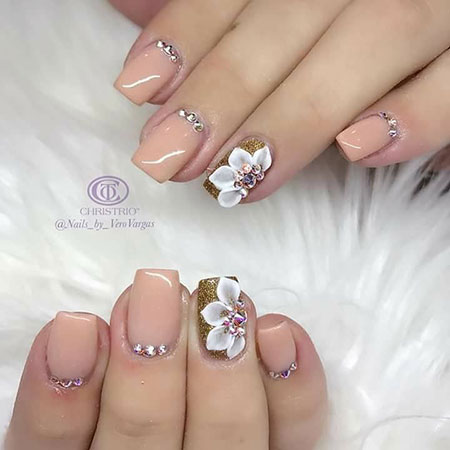 Nail 3D Nails Swarovski