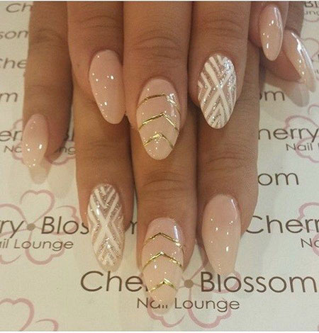 Nail Almond Nails Fan