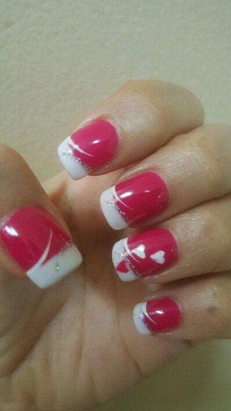 Nail Valentine Valentines Nails