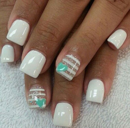 Nails Nail White Fun