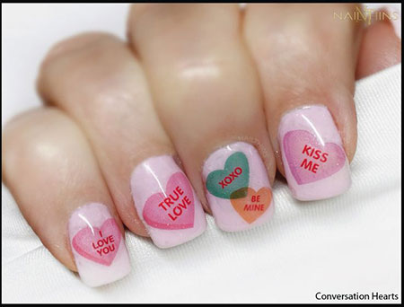 Nail Decals Nails Valentines