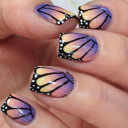 Nail Butterfly Effect Art