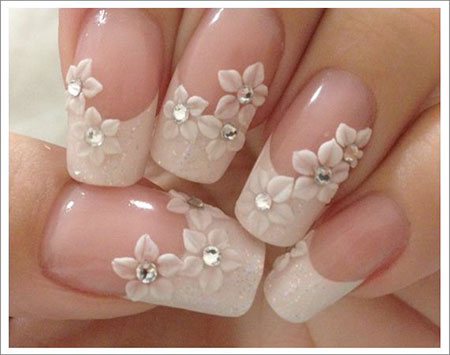 Nail Nails Wedding Gel