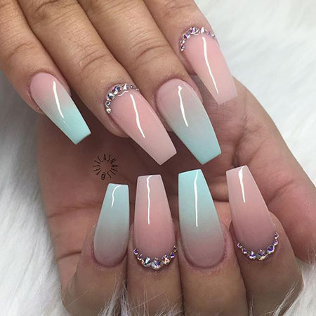 Nail Coffin Nails Acrylic