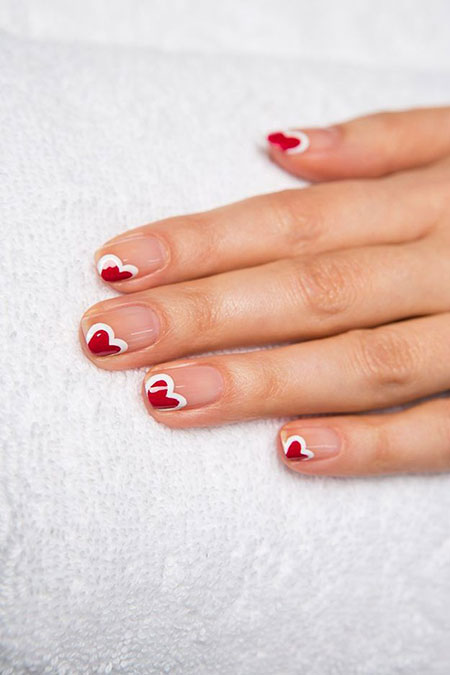 Nail Day Ideas Valentines