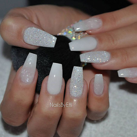 Nail Nails Long Pearl