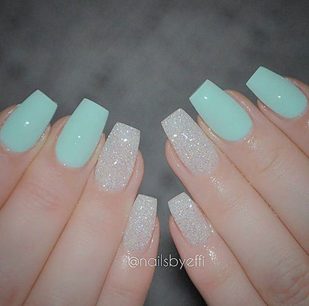 23 Teal Nail Designs Best Nail Art Designs 2018