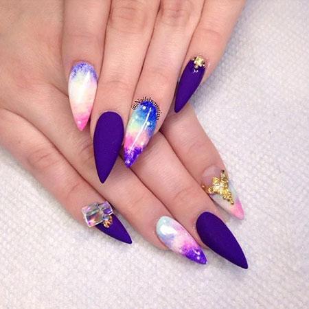 Nails Nail Stiletto Hard