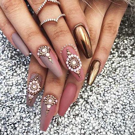 Nails Nail Long Shape