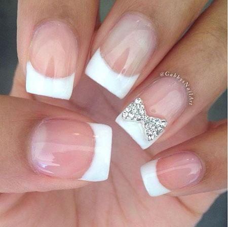 French Nails Nail Wedding