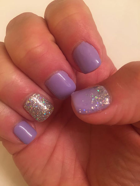 Nail Gel Shellac Purple