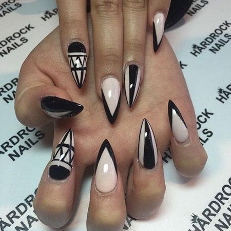 Nail Nails Stiletto Coffin