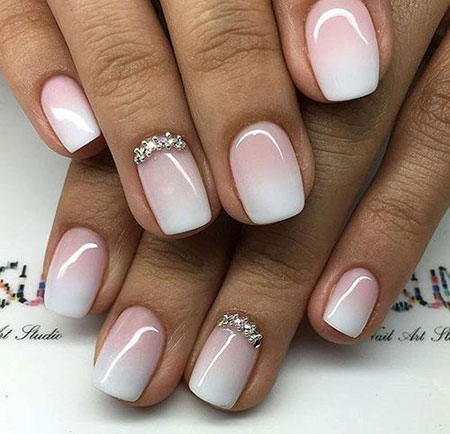 Nail Nails Wedding Design