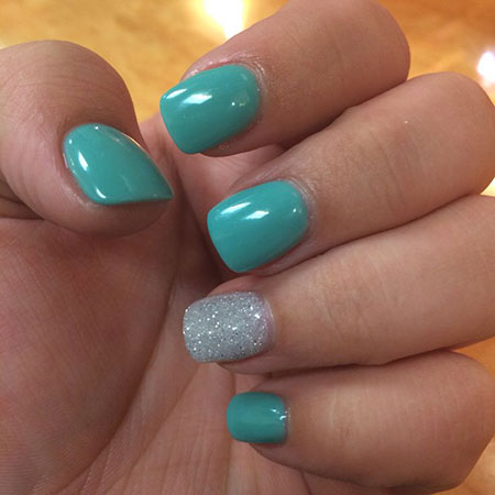 Nail Teal Nails Best