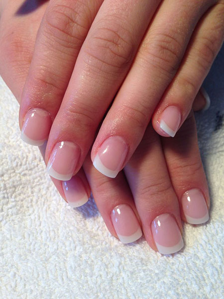 Manicure Nails French Nail