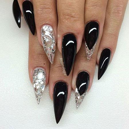 Nails Nail Stiletto Shape