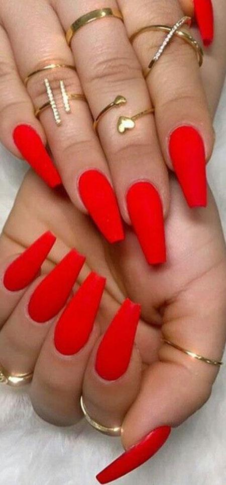 Red Nails Nail Perfect