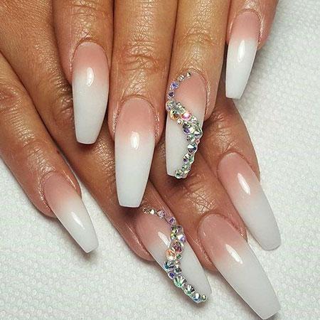 Nail Nails Acrylic Long
