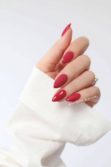 Nail Nails Manicure Red