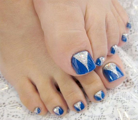 Blue Nail Design for Toes, Nail Easy Nails Toe