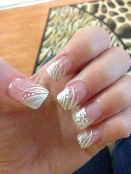 Wedding Nails Nail French