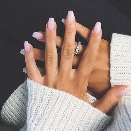 Natural Short Coffin Acrylic Nails, Nail Nails Natural Bridal - 18 Natural Nail Designs Best Nail Art Designs 2018