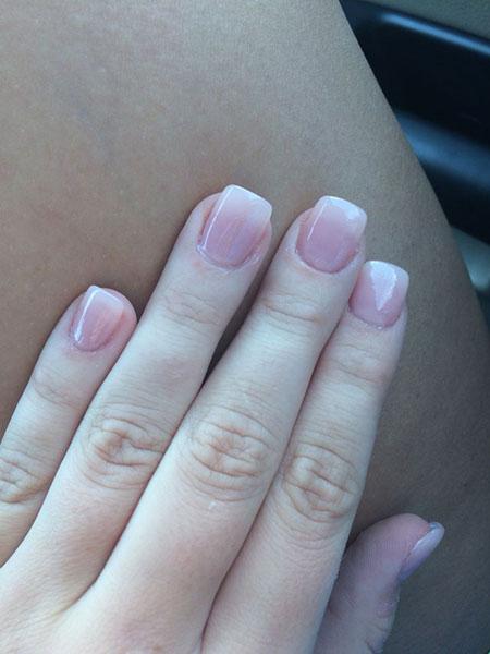Natural Acrylic Manicure Shellac