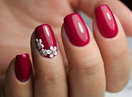 Short Nail Design, Nail Red Nails Design