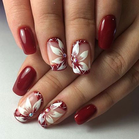 Short Nail Designs in Red, Nail Nails Design Red