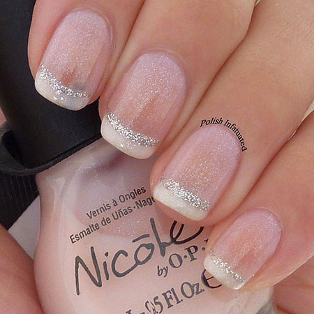 French Nail Idea, Manicure French Wedding Polish
