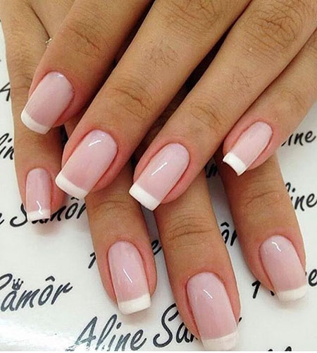 Manicure Ideas French Wedding